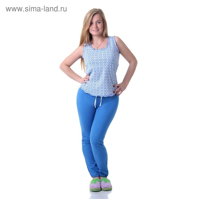 Брюки женские, цвет голубой, размер 46 (арт. 30885)