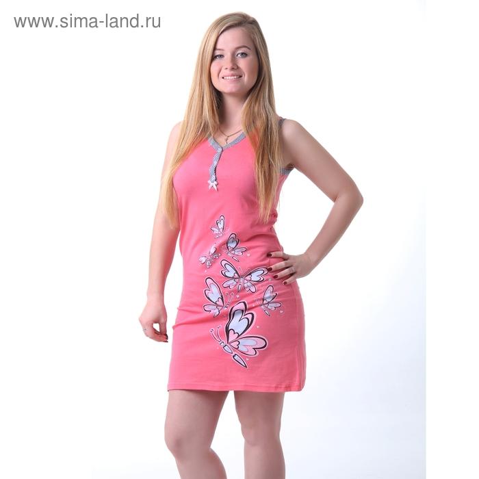 Платье женское, цвет красный, размер 50 (арт. 30766)