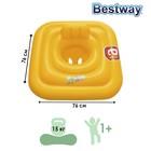 Плотик для плавания Swim Safe, c сиденьем и спинкой, трёхкамерный, ступень A Bestway