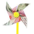 """Ветерок садовый """"Деньги"""", 11,5 х 30 см"""