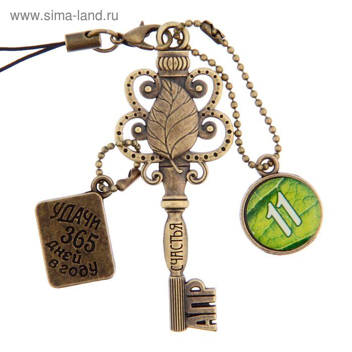 """Ключ сувенирный """"11 Апреля"""", серия 365 дней"""