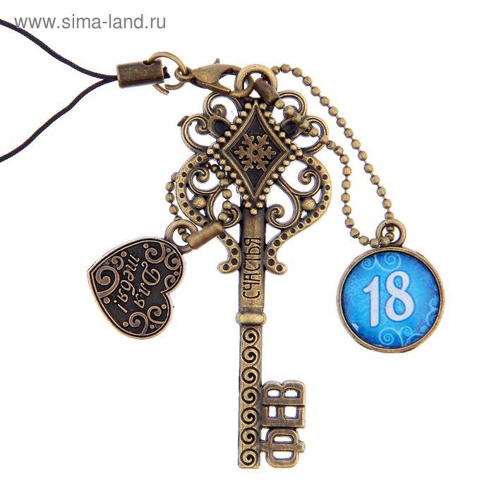 """Ключ сувенирный """"18 Февраля"""", серия 365 дней"""
