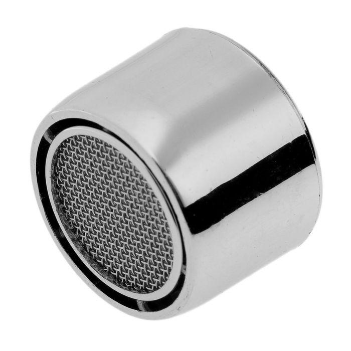 Аэратор, внутренняя резьба, d=20 мм, сетка металл, корпус пластик, цвет хром