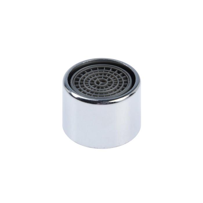 Аэратор, внутренняя резьба, d=20 мм, сетка пластик, корпус пластик, цвет хром