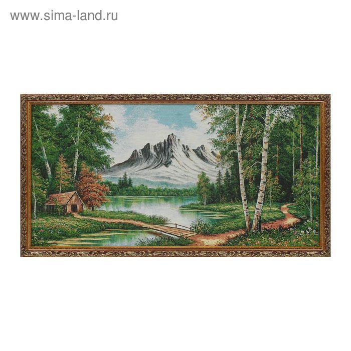 """Гобеленовая картина """"Тропа, уходящая в лес"""""""