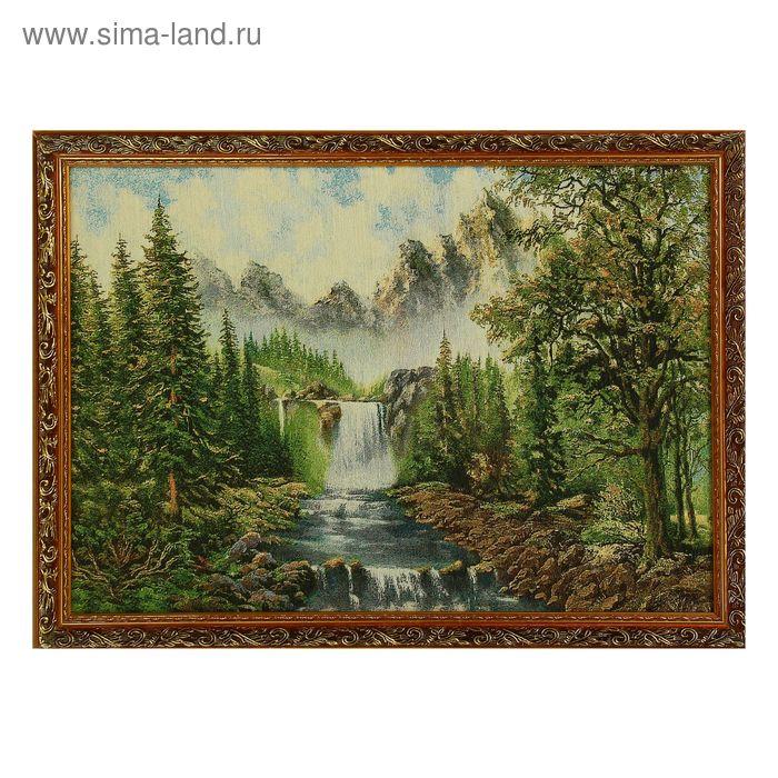 "Гобеленовая картина ""Крутая река"""