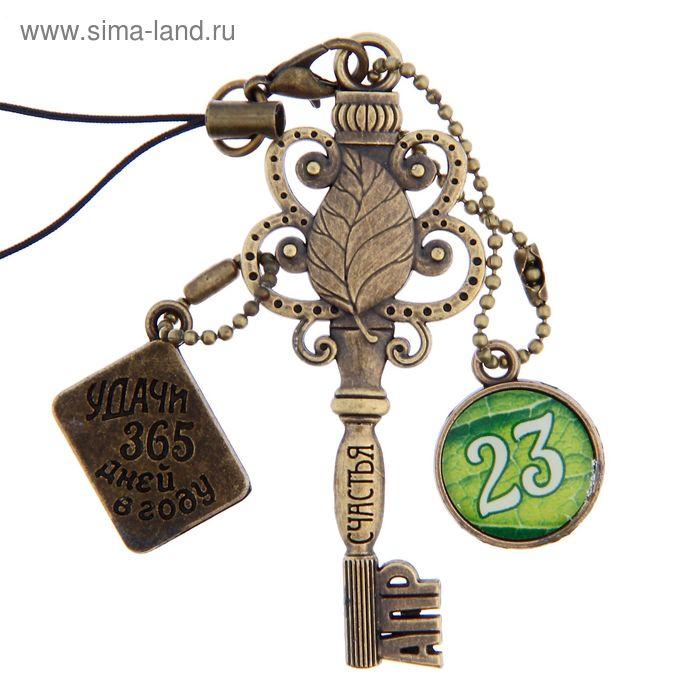 """Ключ сувенирный """"23 Апреля"""", серия 365 дней"""