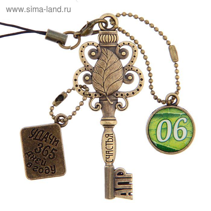 """Ключ сувенирный """"6 Апреля"""", серия 365 дней"""