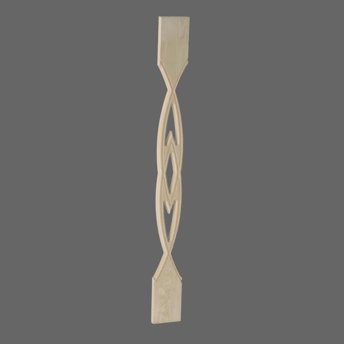 Балясина плоская сорт АВ 18х90х900 №1