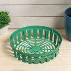 Basket bulbous, round, 30 × 7.4 cm