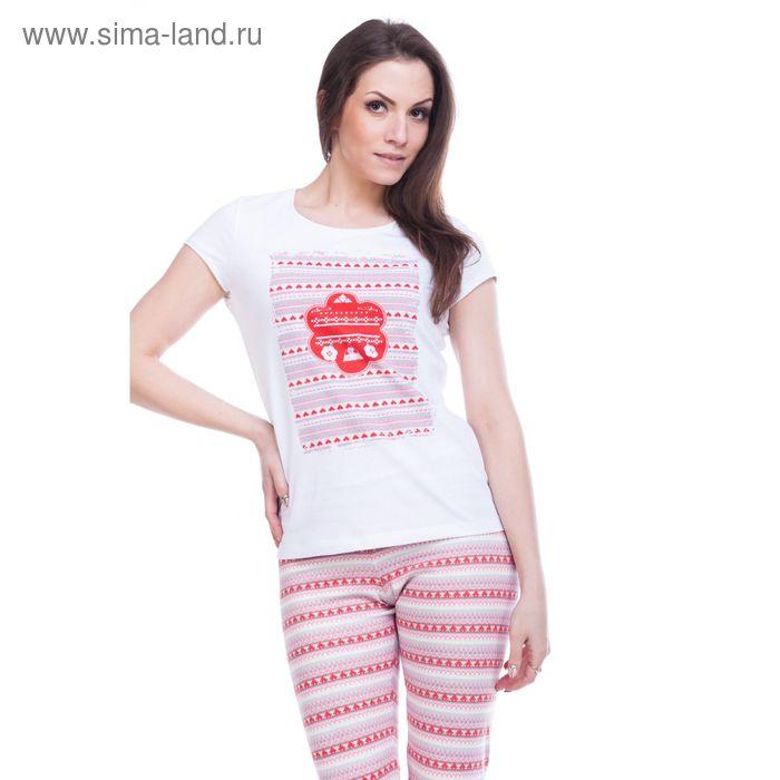 """Джемпер женский """"Фрея"""", рост 158-164 см, размер 42, цвет белый (арт. MK242253/01)"""
