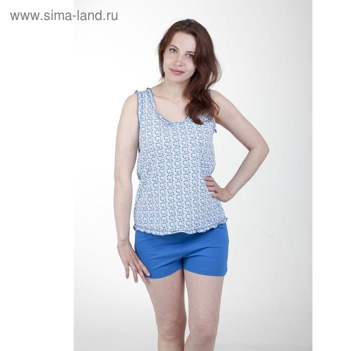 Пижама женская, рост 158-164 см, размер 50, цвет бирюзовый (арт. PK913/01-08)