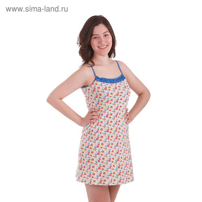 Сорочка женская, рост 158-164 см, размер 42, цвет василёк (арт. PK1301/01)