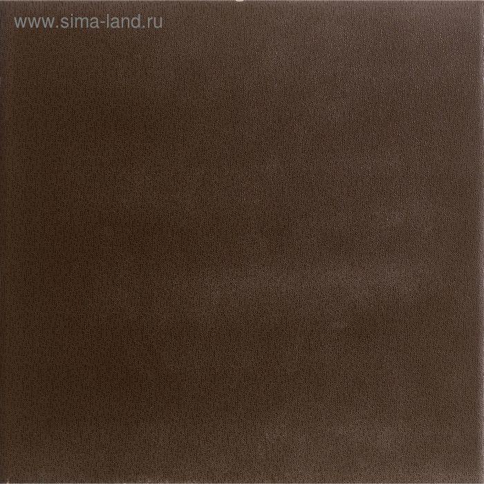 """Керамогранит глазурованный """"Катар"""", коричневый, 300х300 мм"""