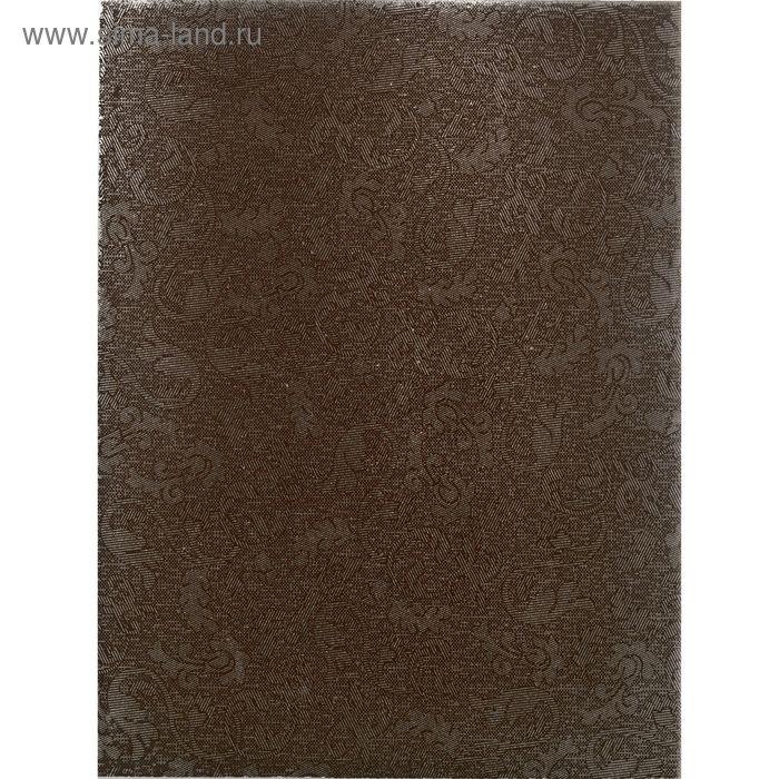 "Плитка настенная ""Катар"", коричневая, 250х330 мм"