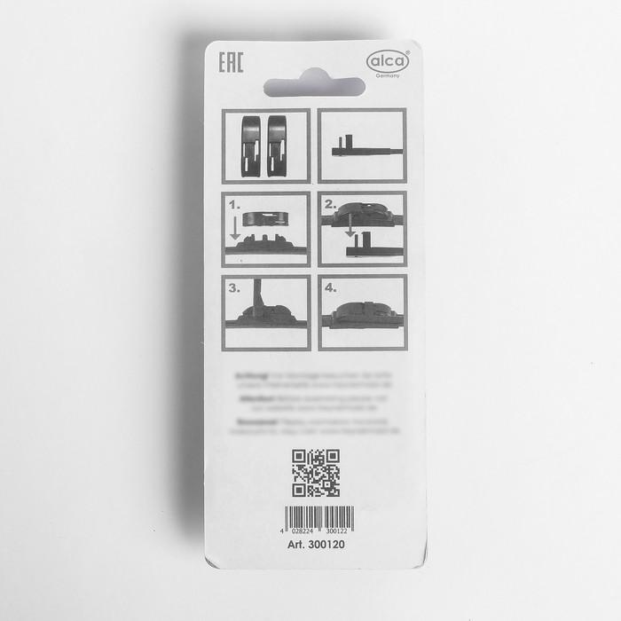 Адаптер для щеток стеклоочистителя ALCA Side Lock, набор 2 шт.