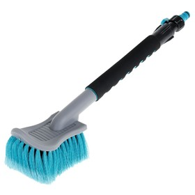 Autovirazh AV-2181 car wash brush, 45 cm, soft handle, under the hose, tap