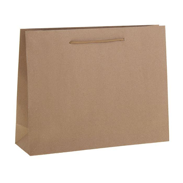 Пакет крафт без печати, 50 х 12 х 38 см