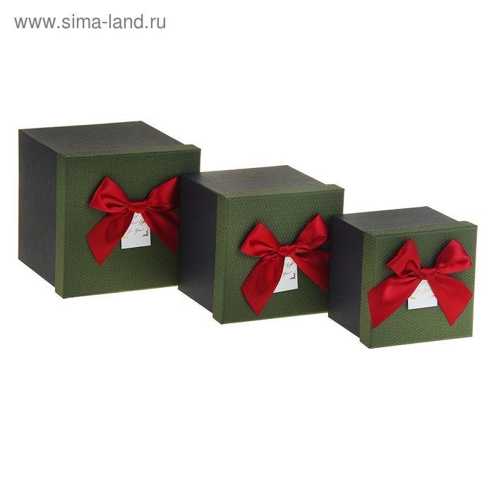 """Набор коробок 3в1 """"Квадратик"""""""