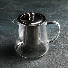 Чайник заварочный «Эгла», 500 мл, 13,5×10×12 см, металлическое сито