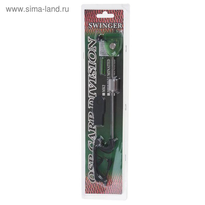 Сигнализатор поклёвки механический, цвет зелёный