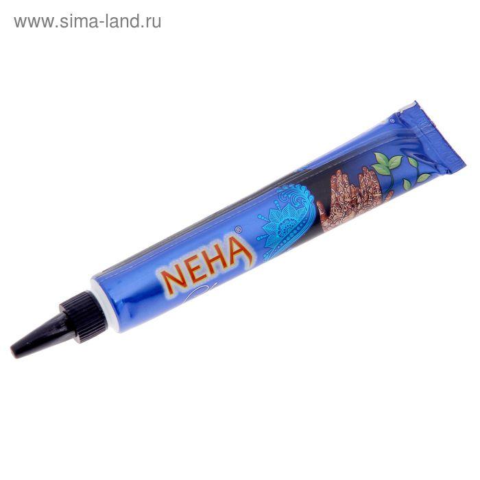 Хна для био тату туба Неха натуральная чёрная, 25 г