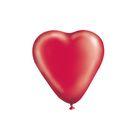 """Шар латексный 25"""" """"Сердце"""", пастель, цвет красный"""