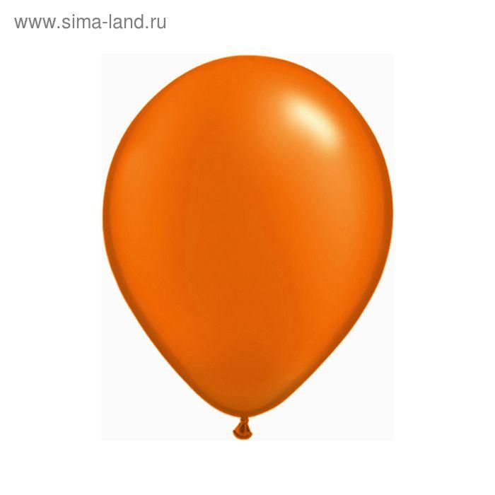 """Шар латексный 5"""", пастель, набор 100 шт., цвет оранжевый"""