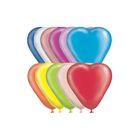 """Шар латексный Сердце 10"""" Пастель 50 + 10 беспл = 60 шт. цвета МИКС 1 шт. G - фото 169226053"""