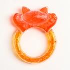 Прорезыватель охлаждающий «Котик мяу», цвет МИКС
