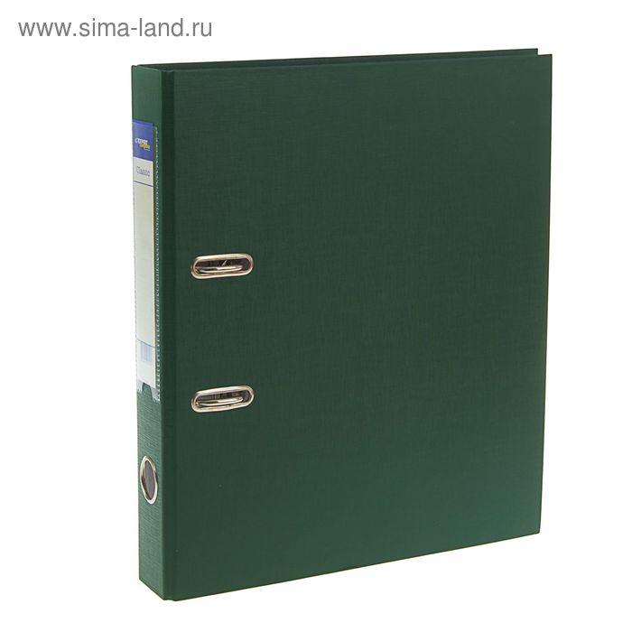 Папка-регистратор А4, 50мм PVC Classic, разборный, изумрудный