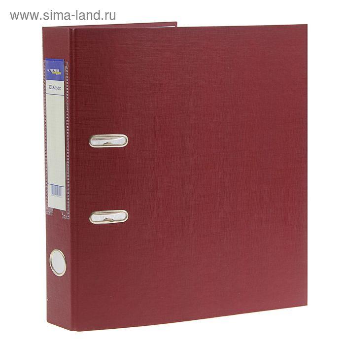 Папка-регистратор А4, 50мм PVC Classic, разборный, вишня