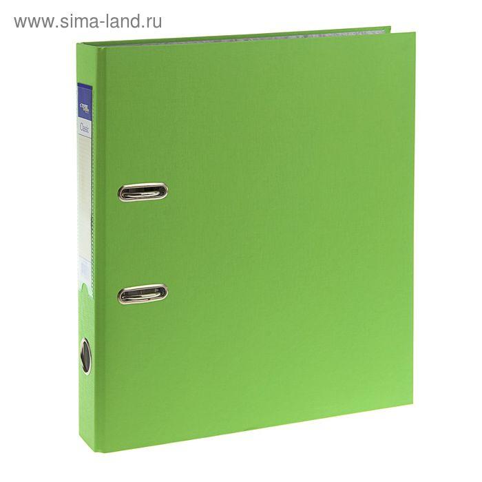 Папка-регистратор А4, 50мм PVC Classic, разборный, салатовый