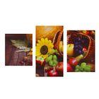 """Модульная картина на подрамнике """"Урожай"""", 30×35 см, 30×55 см, 30×45 см, 94×55 см"""