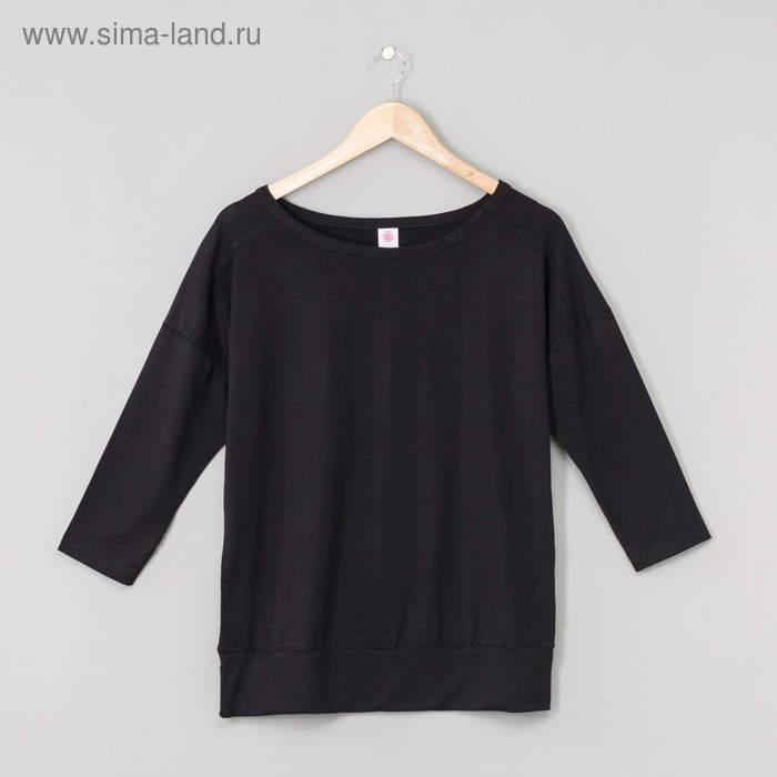 Джемпер женский, цвет чёрный, рост 170-176 см, размер 58 (арт. Р808039)