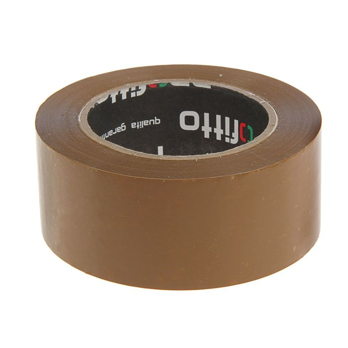 Клейкая лента упаковочная 48ммх145м PROFITTO темная 44999/36