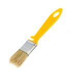 """Кисть плоская """"АКОР"""", 25х10 мм, ручка пластик, натуральная щетина, для эмали"""