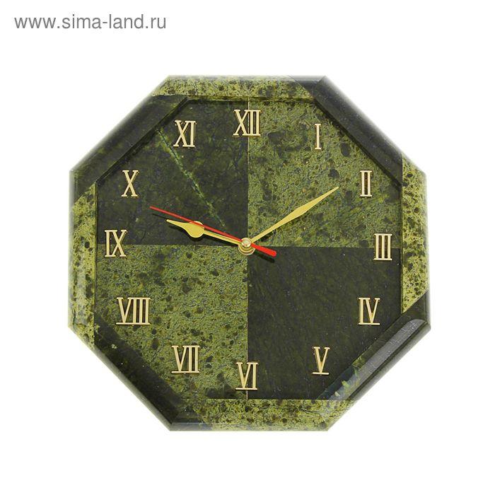 "Часы настенные ""Восьмигранник №2"" полированные 245х245х30мм"