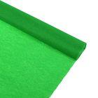 Бумага крепированная 50*250см, 32 г/м2, светло-зеленая, в рулоне