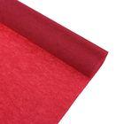 Бумага крепированная 50*250см, 32 г/м2, рубиновая, в рулоне