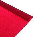 Бумага крепированная 50*250см, 32 г/м2, бордовая, в рулоне