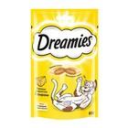 Лакомство Dreamies для кошек, с сыром, 60 г