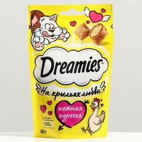 Лакомство Dreamies для кошек, курица, 60 г