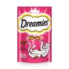 Лакомство Dreamies для кошек, говядина, 60 г