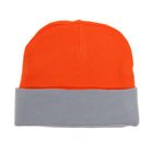 Шапка мужская RYH5724, размер 57-59, цвет оранжевый/св.серый