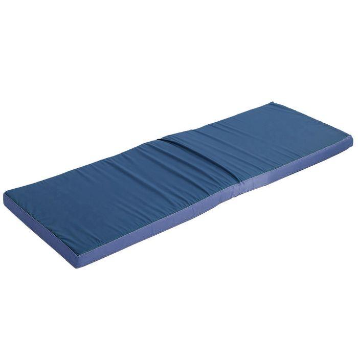 Мат гимнастический, 150х50х6 см, оксфорд, цвет МИКС