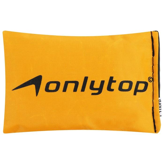 Мешочек для метания ONLITOP, вес 100 гр, цвета микс