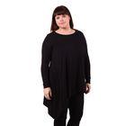 Блузка-топ женская 51000094, цвет чёрный, размер 52(XXL), рост 170