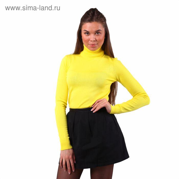 Свитер женский 40200320005, размер 44 (S), рост 170 см. цвет жёлтый
