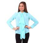 Блузка женская 40200260049 цвет св.зелёный, р-р 42 (XS), рост 170 см